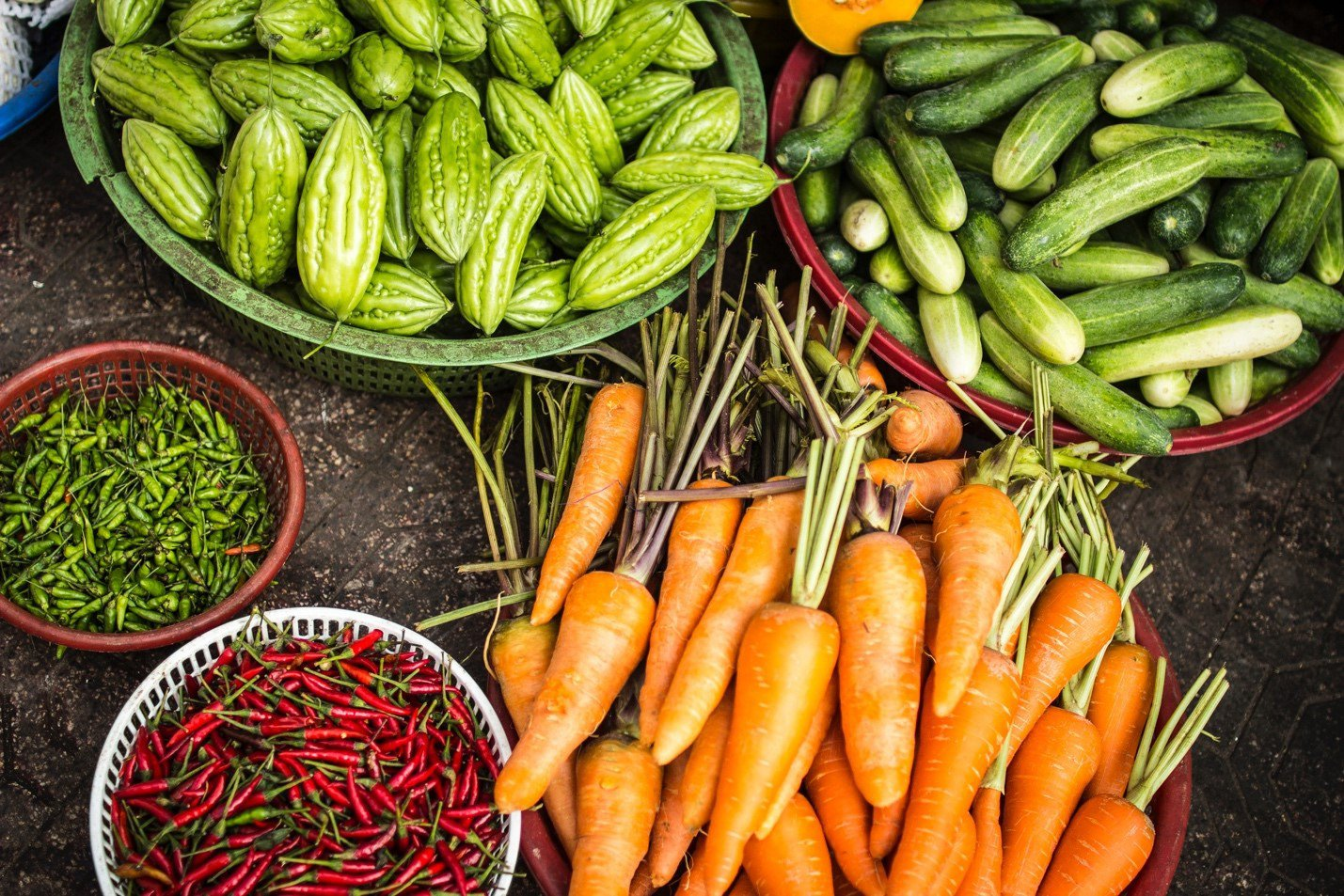 Buying Local Vegetables