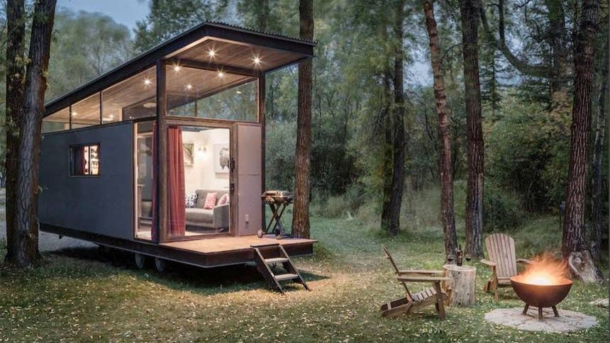 TINY HOMES, BIG MOVEMENT –
